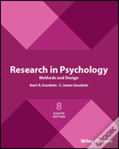 Research In Psychology Methods And Design 8e