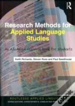 Research Methods For Applied Language Studies