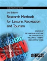 Research Methods For Leisure, Recreation And Tourism