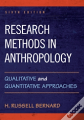 Research Methods In Anthropolopb