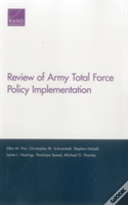 Wook.pt - Review Of Army Total Force Polpb