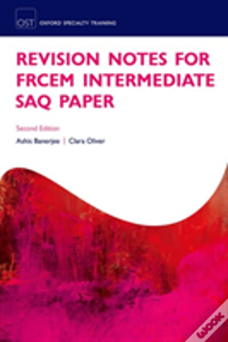 Wook.pt - Revision Notes For The Frcem Intermediate Saq Paper
