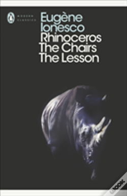 Wook.pt - Rhinoceros, The Chairs, The Lesson