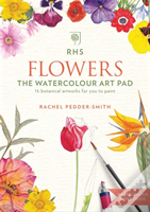 Rhs Flowers The Watercolour Art Pad