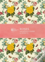 Rhs Rose Wrapping Paper