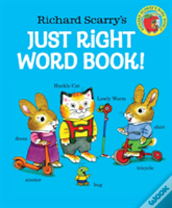 Wook.pt - Richard Scarrys Just Right Word Book