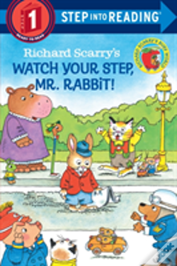 Wook.pt - Richard Scarry'S Watch Your Step, Mr. Rabbit!