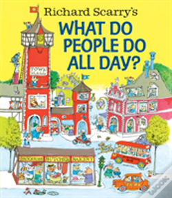 Wook.pt - Richard Scarrys What Do People Do All Da