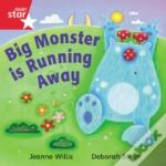 Rigby Rocket: Reception Red Book 16 - Big Monster Runs Away - Group Pack