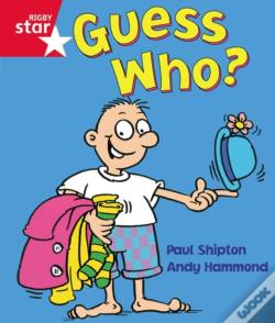 Wook.pt - Rigby Star Guided Reception: Red Level: Guess Who? Pupil Book (Single)