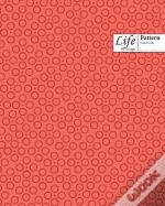 Ringed Dots Pattern Composition Notebook