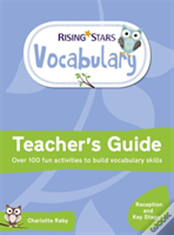 Wook.pt - Rising Stars Vocabulary: Reception And Key Stage 1