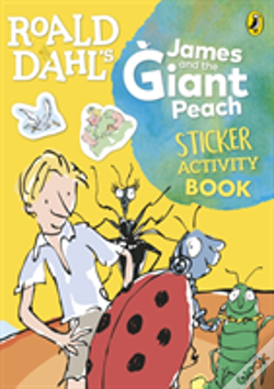 Wook.pt - Roald Dahl'S James And The Giant Peach Sticker Activity Book