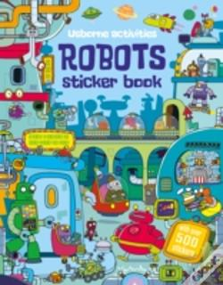 Wook.pt - Robots Sticker Book
