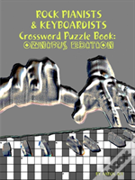Rock Pianists & Keyboardists Crossword Puzzle Book