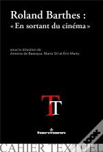Roland Barthes : 'En Sortant Du Cinema'