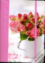 Romantic Flowers Paperback Journal