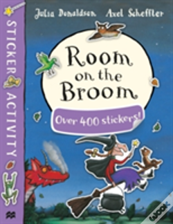 Wook.pt - Room On The Broom Sticker Book