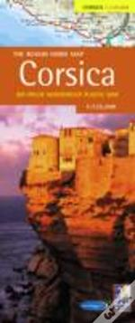 Rough Guide Map Corsica
