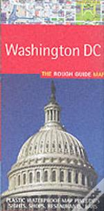 Rough Guide Map Washington Dc