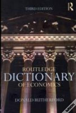 Wook.pt - Routledge Dictionary Of Economics