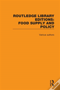 Wook.pt - Routledge Library Editions: Food Supply And Policy