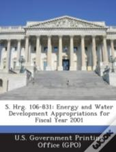S. Hrg. 106-831: Energy And Water Development Appropriations For Fiscal Year 2001