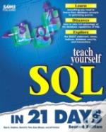Sams Teach Yourself Sql In 21 Days, Second Edition