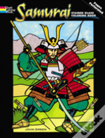 Samurai Stained Glass Coloring Book