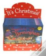 Santa Is Coming To Birmingham X12 Pack