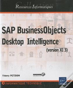 Wook.pt - Sap Businessobjects - Desktop Intelligence (Version Xi 3)
