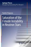 Saturation Of The F-Mode Instability In Neutron Stars
