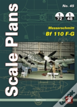 Scale Plans No44 Messerschmitt Bf 110f-G