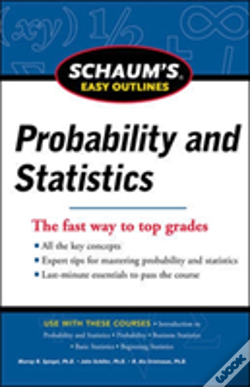 Wook.pt - Schaum'S Easy Outline Of Probability And Statistics