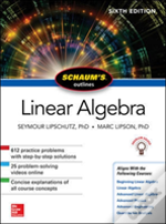 Schaum'S Outline Of Linear Algebra, Sixth Edition