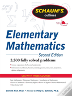 Wook.pt - Schaums Outline Of Review Of Elementary Mathematics
