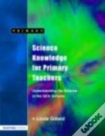 Science Knowledge For Primary Teachers