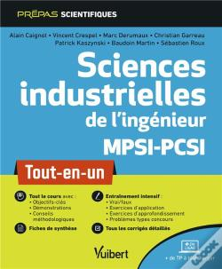 Wook.pt - Sciences Industrielles De L'Ingenieur Mpsi-Pcsi