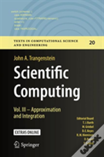 Scientific Computing - Vol. Iii