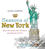 Seasons Of New York Colouring Book