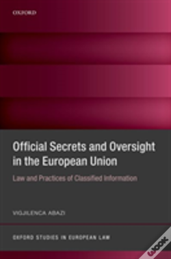 Wook.pt - Secrecy And Oversight In The Eu