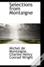 Selections From Montaigne