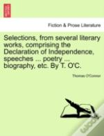 Selections, From Several Literary Works,