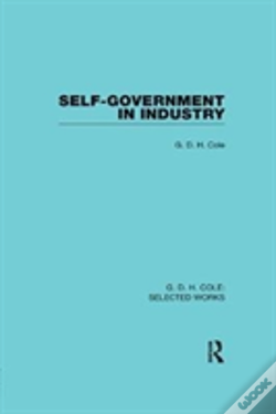Wook.pt - Self Government In Industry Cole V
