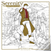 Serenity: Everything'S Shiny Adult Coloring Book