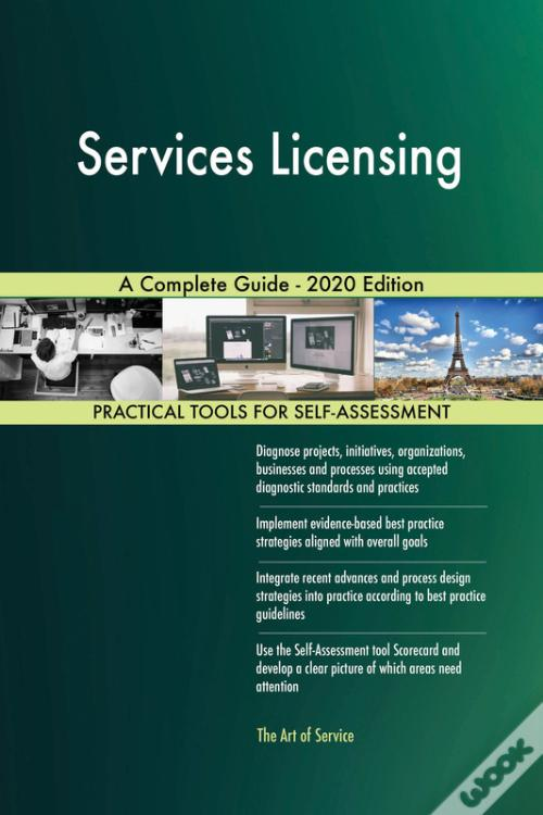 Baixar Services Licensing A Complete Guide - 2020 Edition PDF Grátis