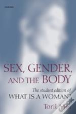 Sex, Gender, And The Body