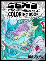 Sexy Psychedelic Coloring Book