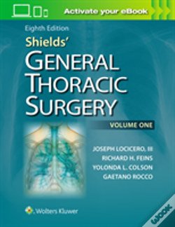 Wook.pt - Shields General Thoracic Surgery 8e