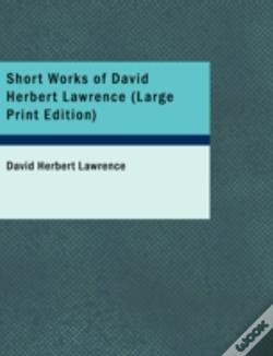 Wook.pt - Short Works Of David Herbert Lawrence